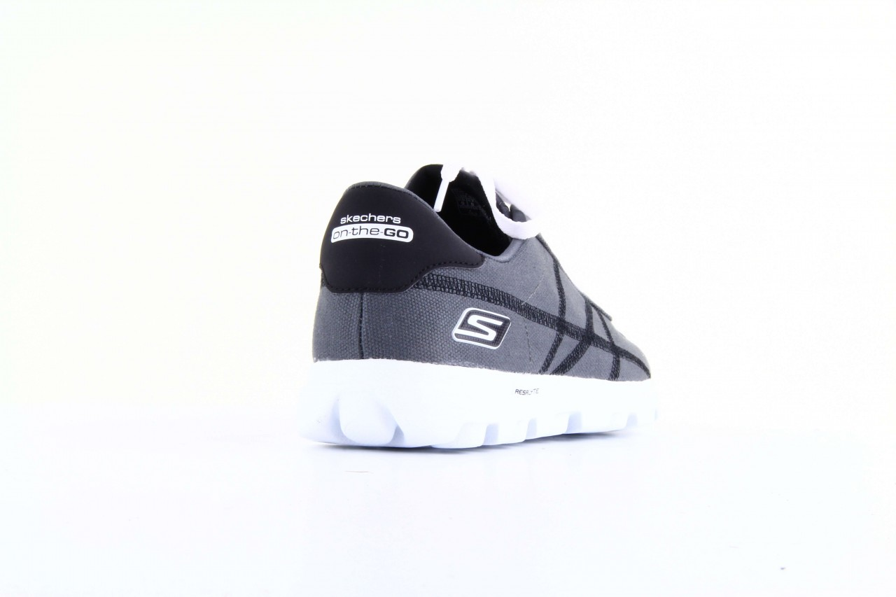 Skechers 53661 gybk gray- black 8