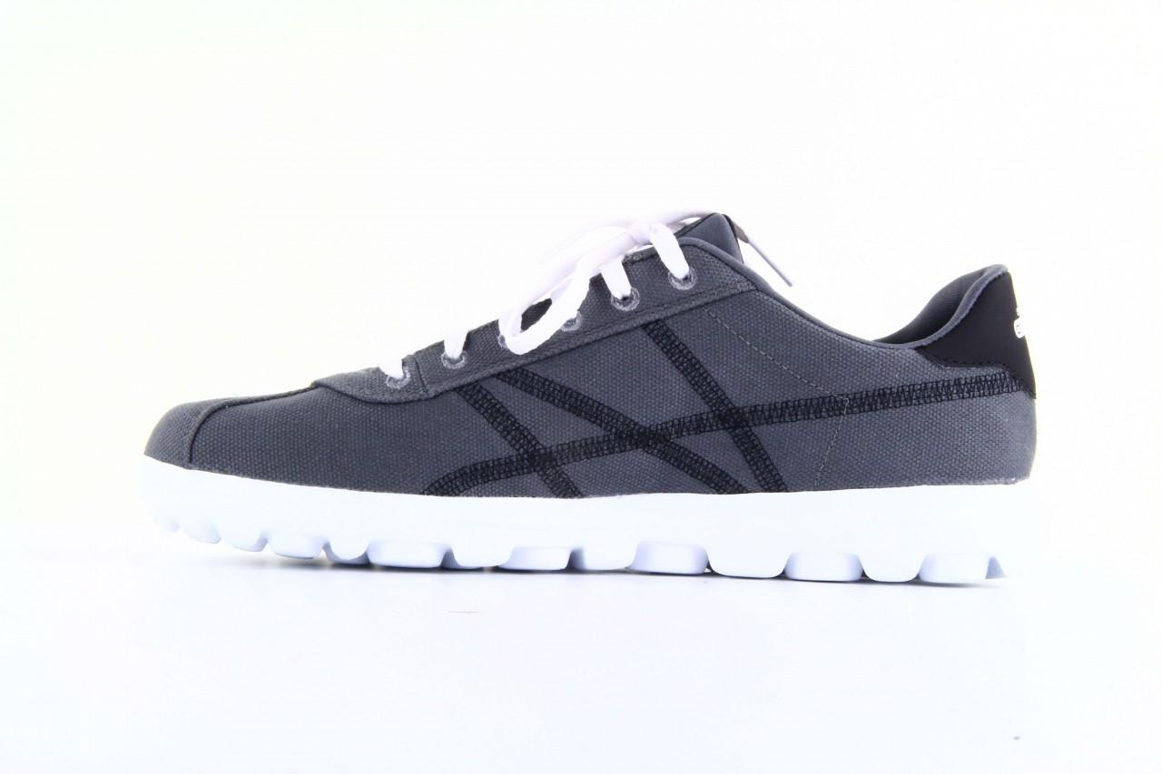 Skechers 53661 gybk gray- black 10