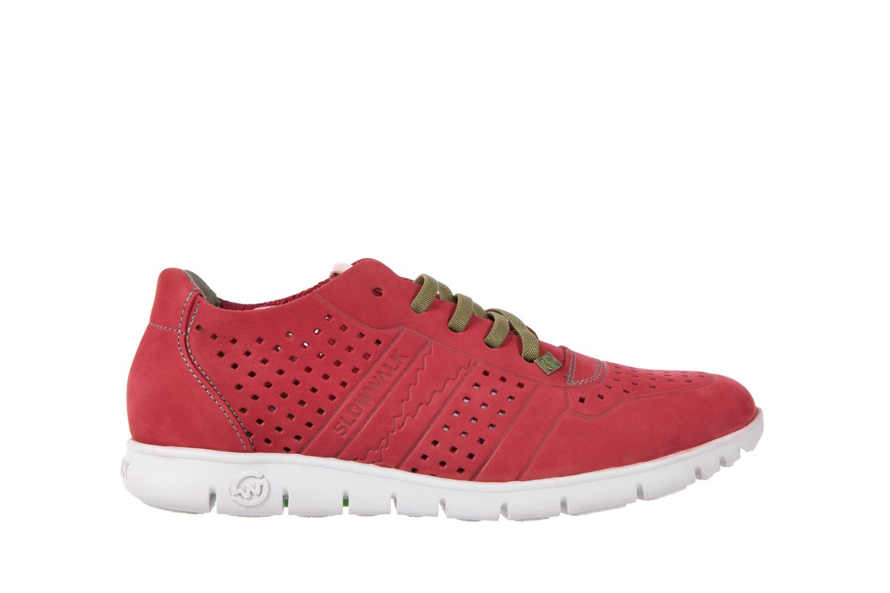 Slowwalk 10061 nobuck red 6