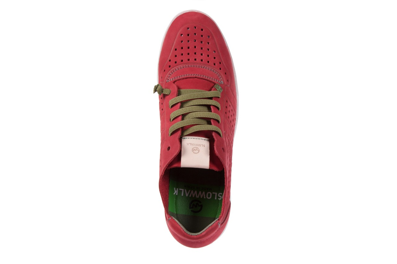 Slowwalk 10061 nobuck red 10