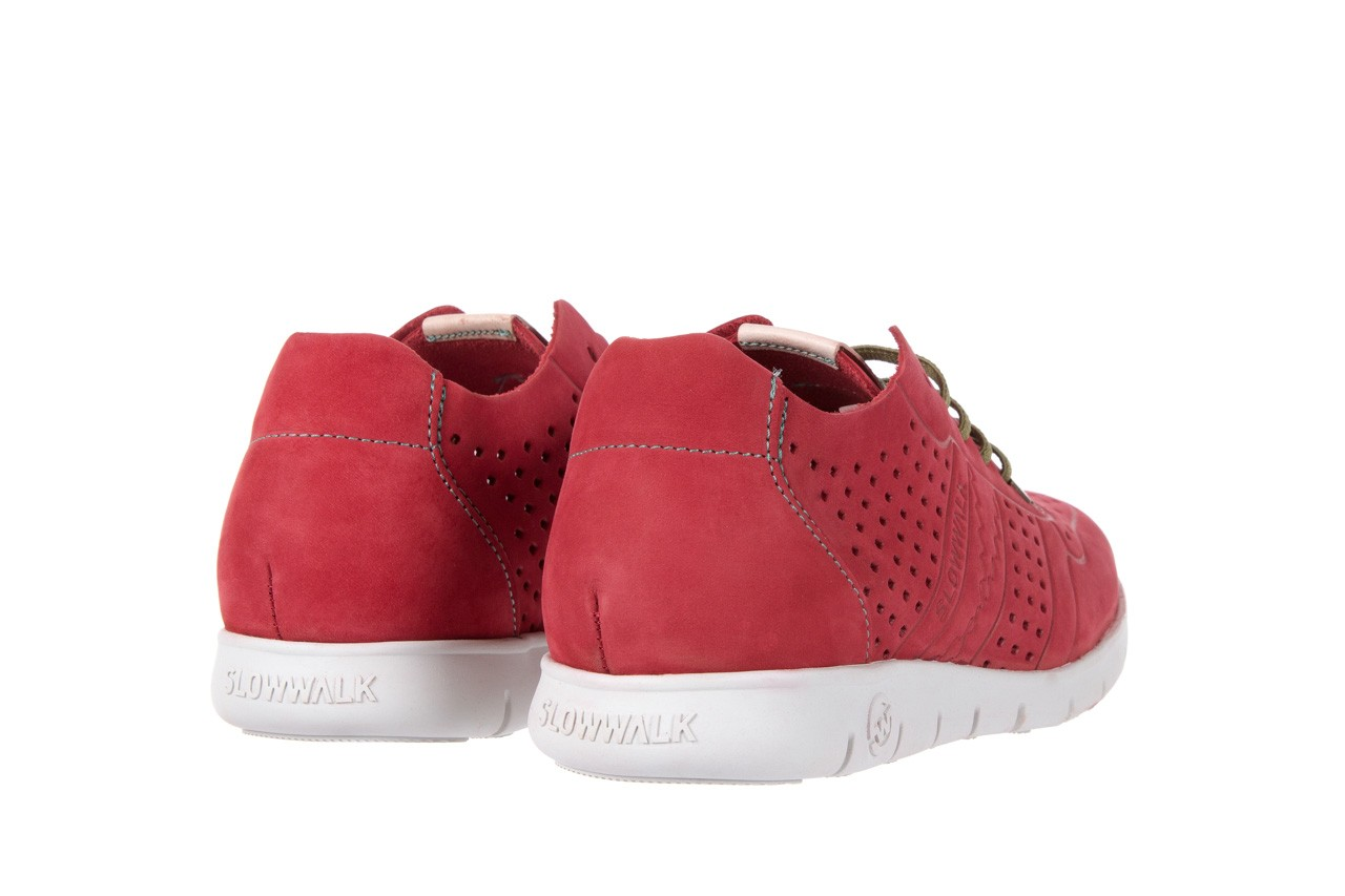 Slowwalk 10061 nobuck red 9