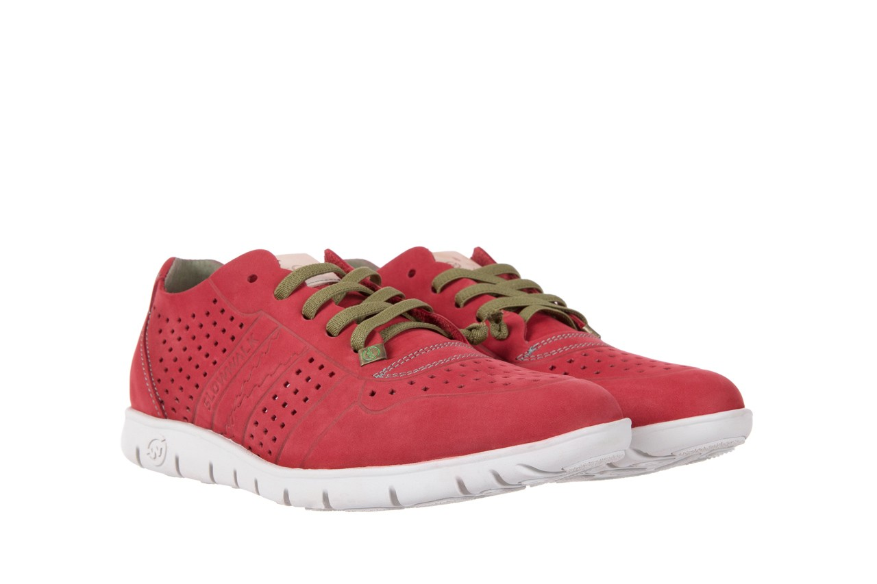 Slowwalk 10061 nobuck red 7