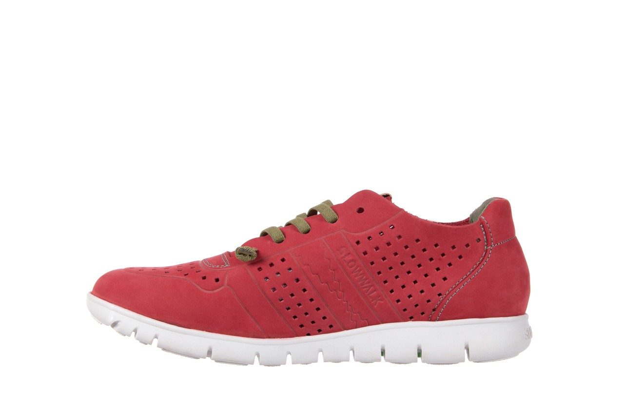Slowwalk 10061 nobuck red 8