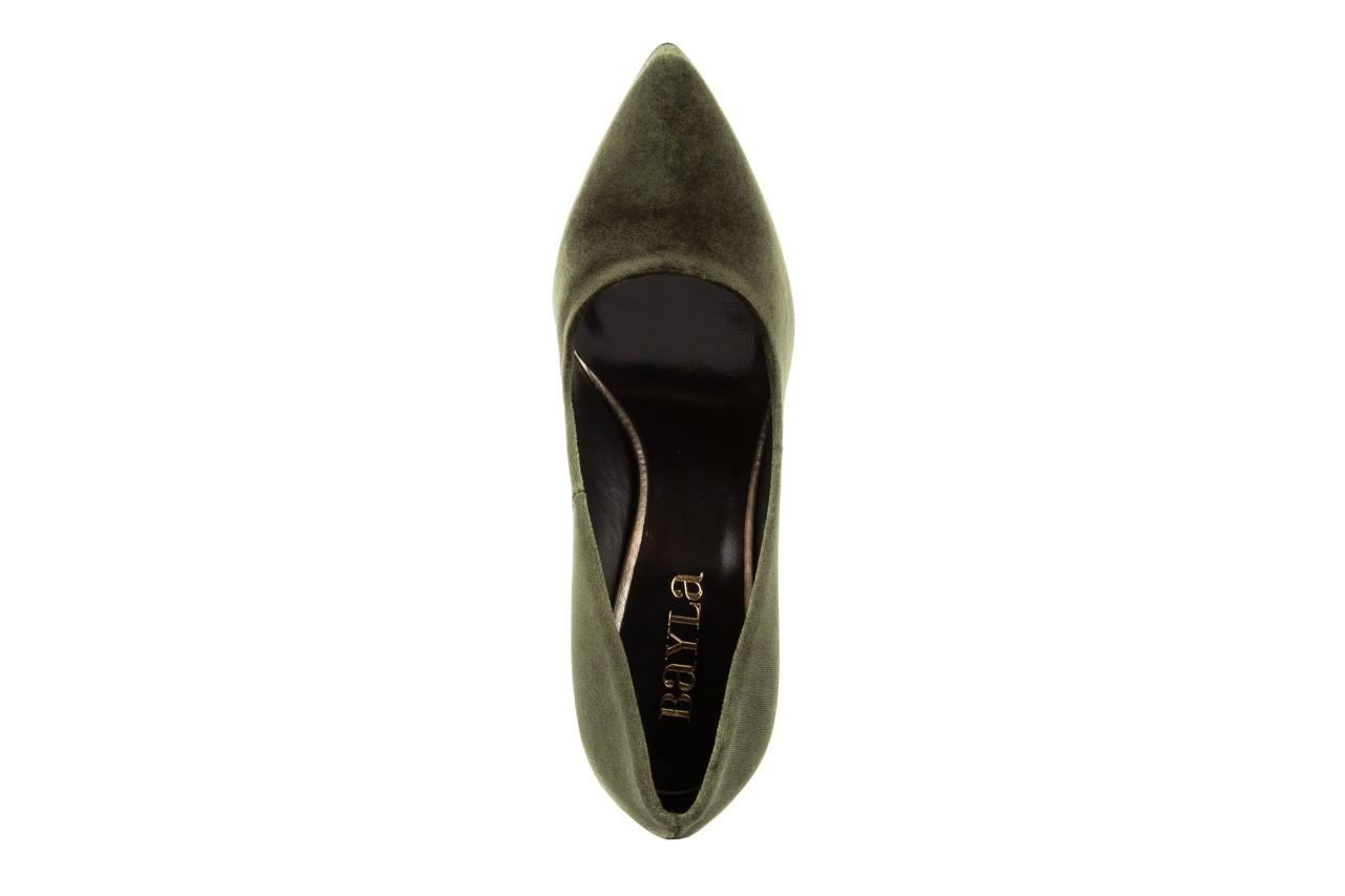 Czółenka bayla-056 1819-768 zielony, skóra naturalna - bayla - nasze marki 11