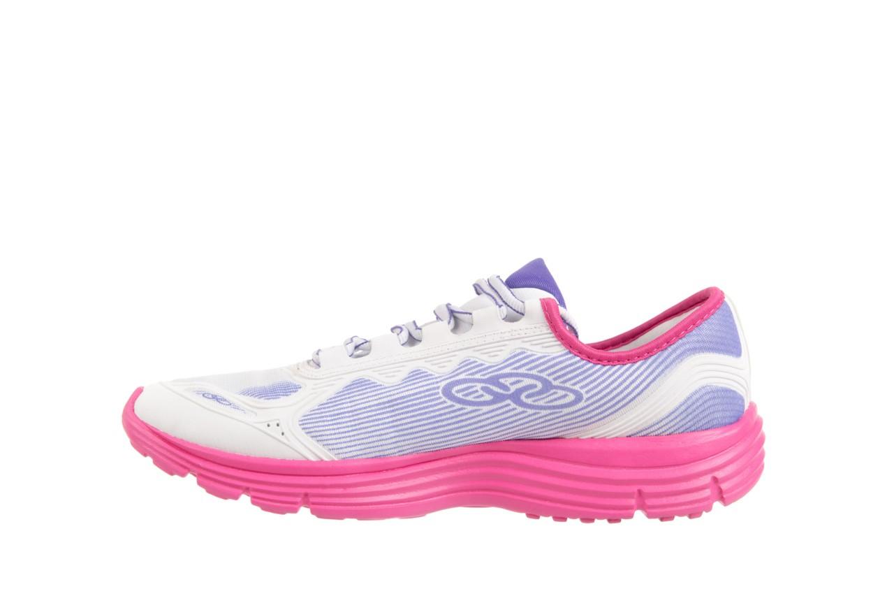 Trampki olympikus sync 166 white pink, biały/ róż, materiał  - azaleia - nasze marki 8