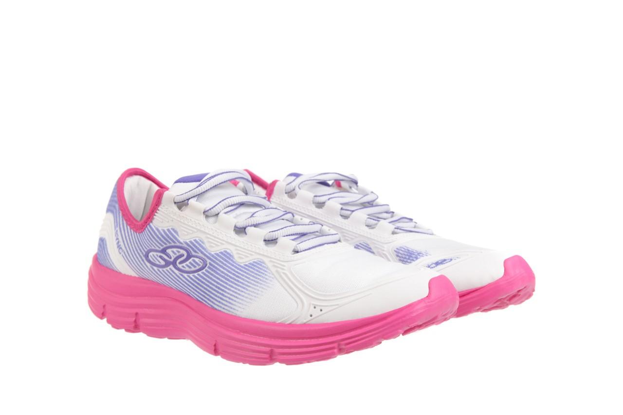 Trampki olympikus sync 166 white pink, biały/ róż, materiał  - azaleia - nasze marki 7