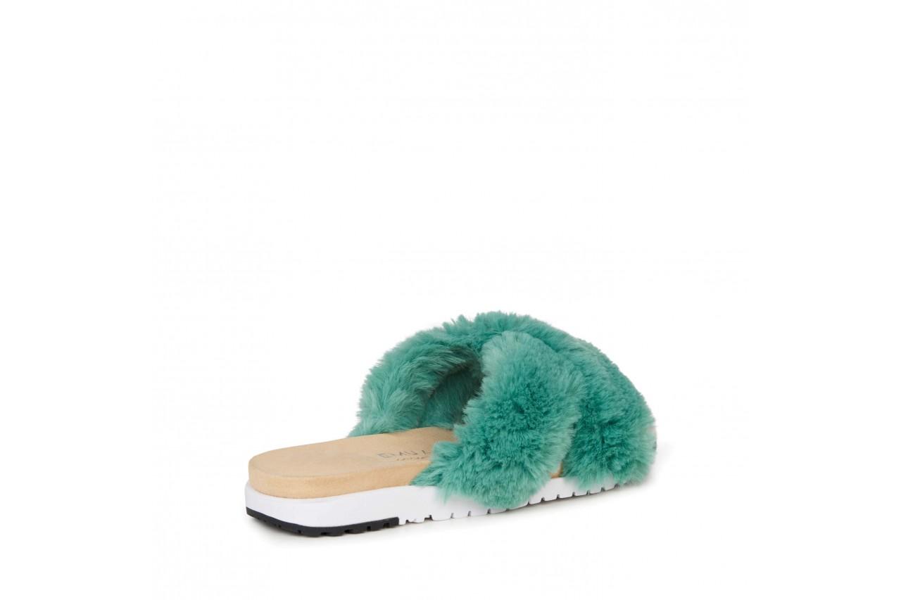 Klapki emu mareeba sea green, zielony, futra naturalna  - emu - nasze marki 9