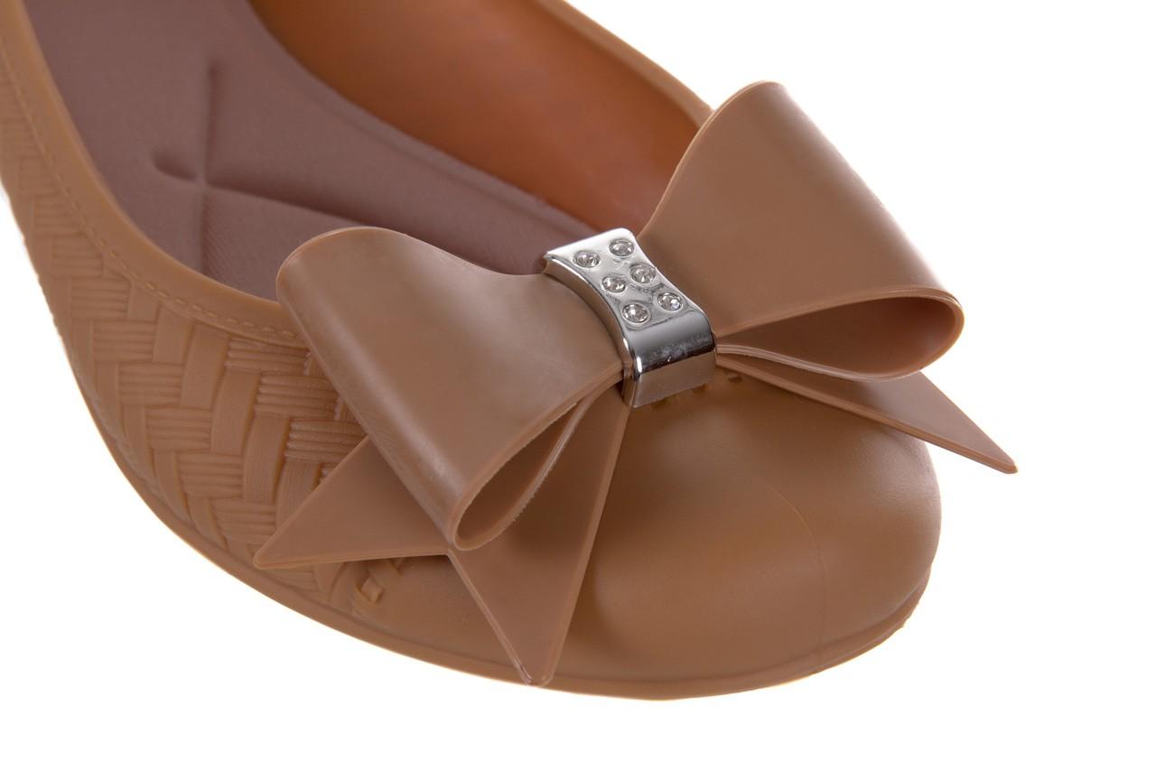 Baleriny t&g fashion 11-087 caramel, brąz, guma - tg - nasze marki 12