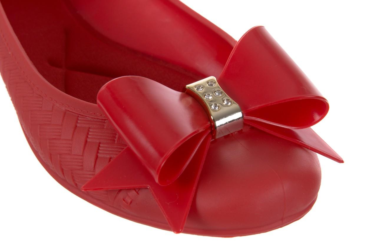 Baleriny t&g fashion 11-087 red, czerwony, guma - tg - nasze marki 12