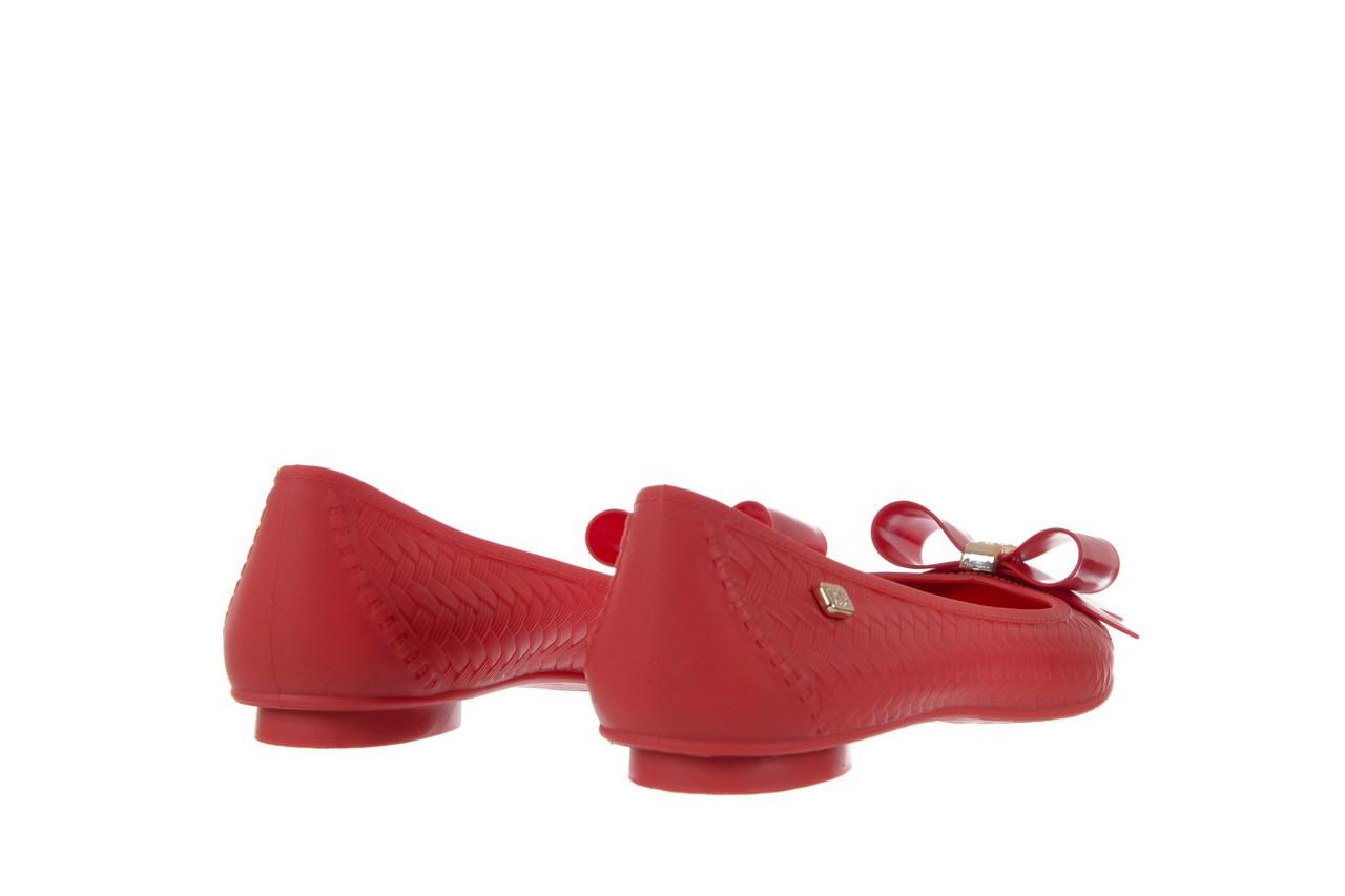 Baleriny t&g fashion 11-087 red, czerwony, guma - tg - nasze marki 10
