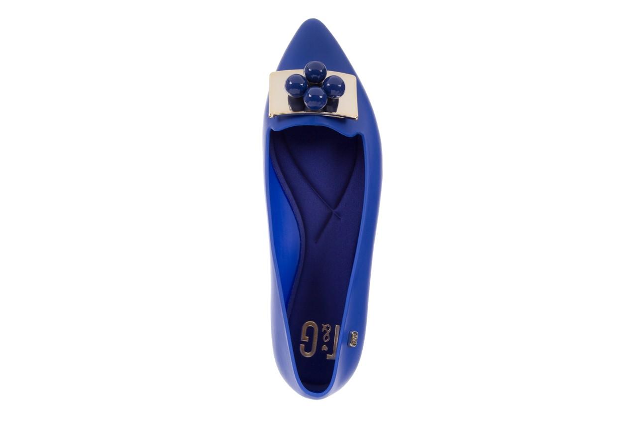Baleriny t&g fashion 11-091 blue, granat, guma 11