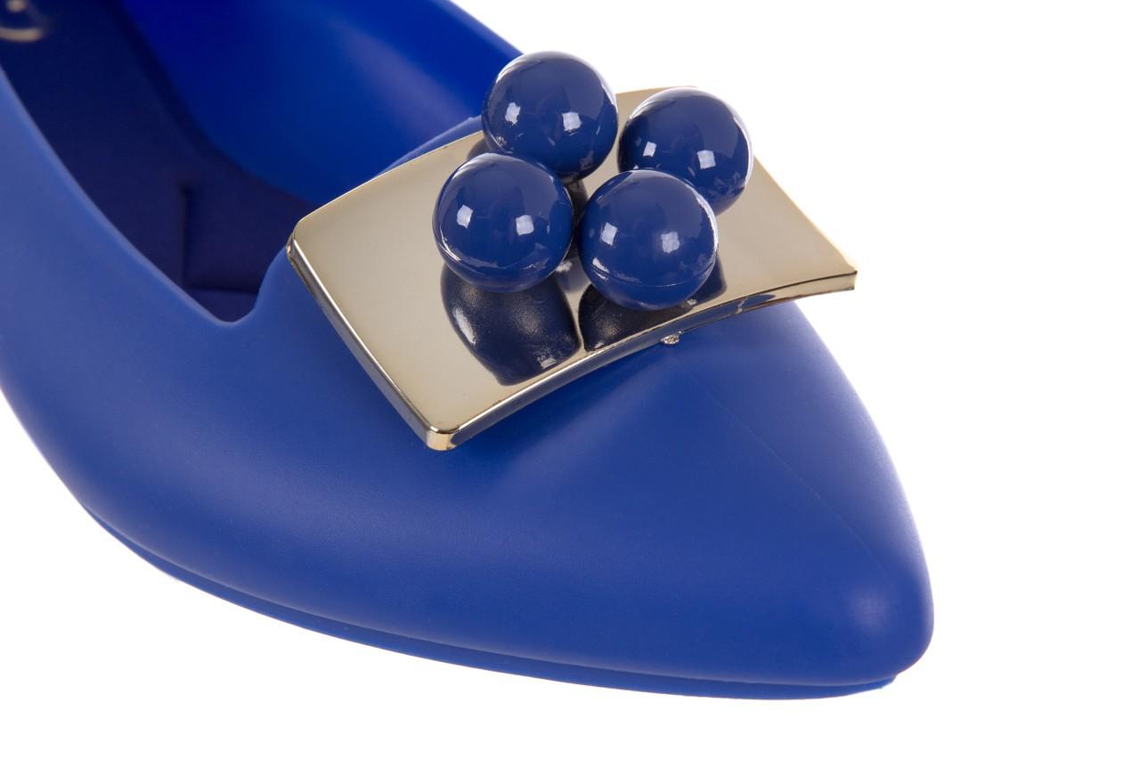 Baleriny t&g fashion 11-091 blue, granat, guma 12