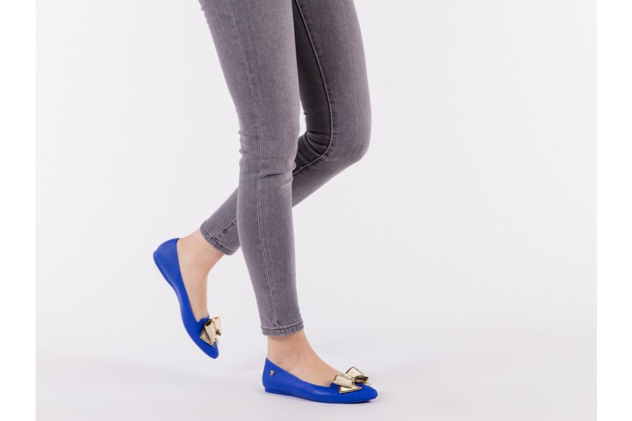 Baleriny t&g fashion 11-092 blue, granat, guma - tg - nasze marki 13