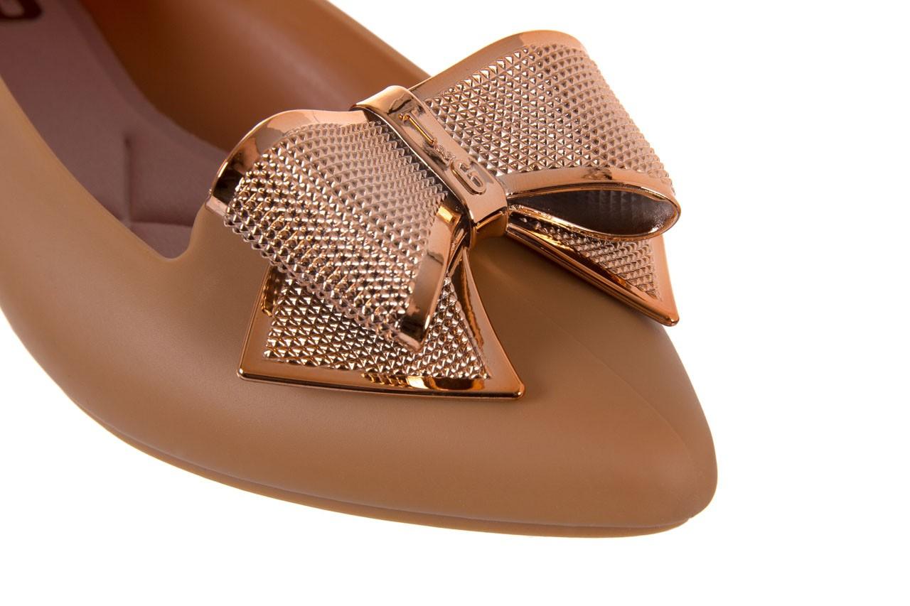 Baleriny t&g fashion 11-092 caramel, brąz, guma - tg - nasze marki 12