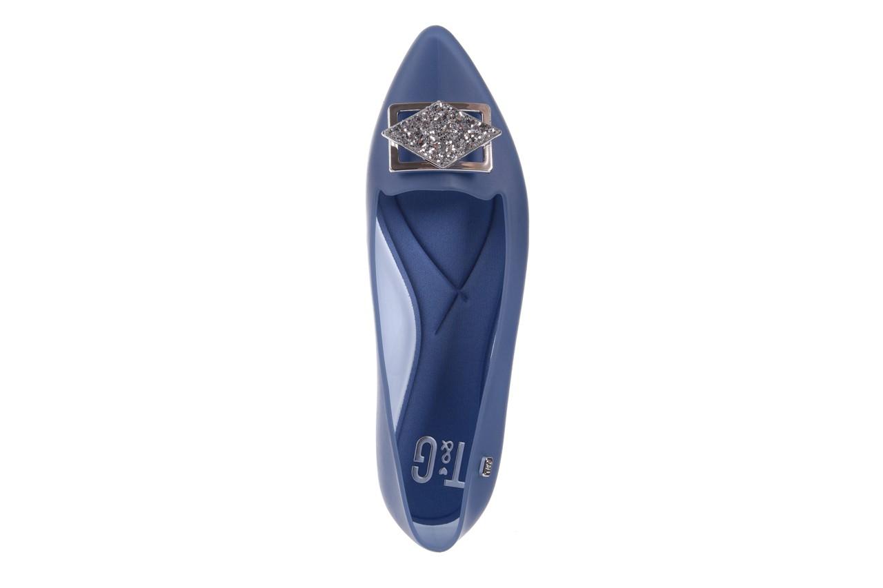 Baleriny t&g fashion 11-093 translucent, niebieski, guma - tg - nasze marki 11
