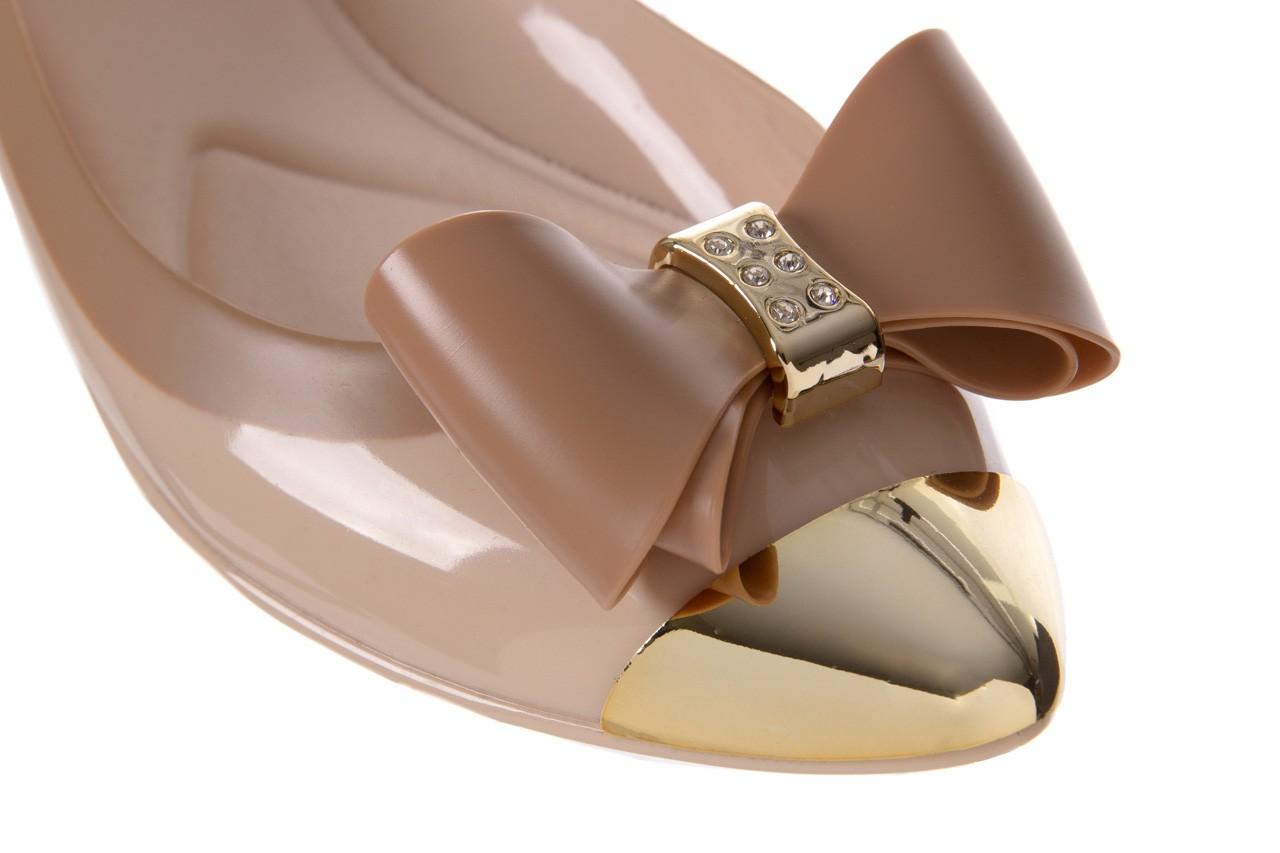 Baleriny t&g fashion 11-102 beige, beż/ brąz, guma - tg - nasze marki 12
