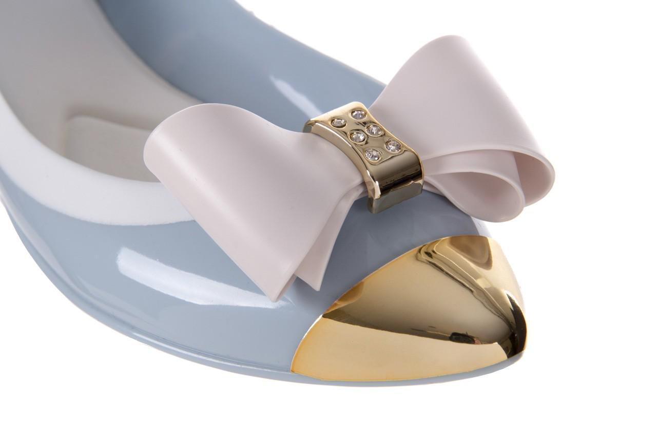 Baleriny t&g fashion 11-102 light blue, niebieski/ biały, guma - tg - nasze marki 12