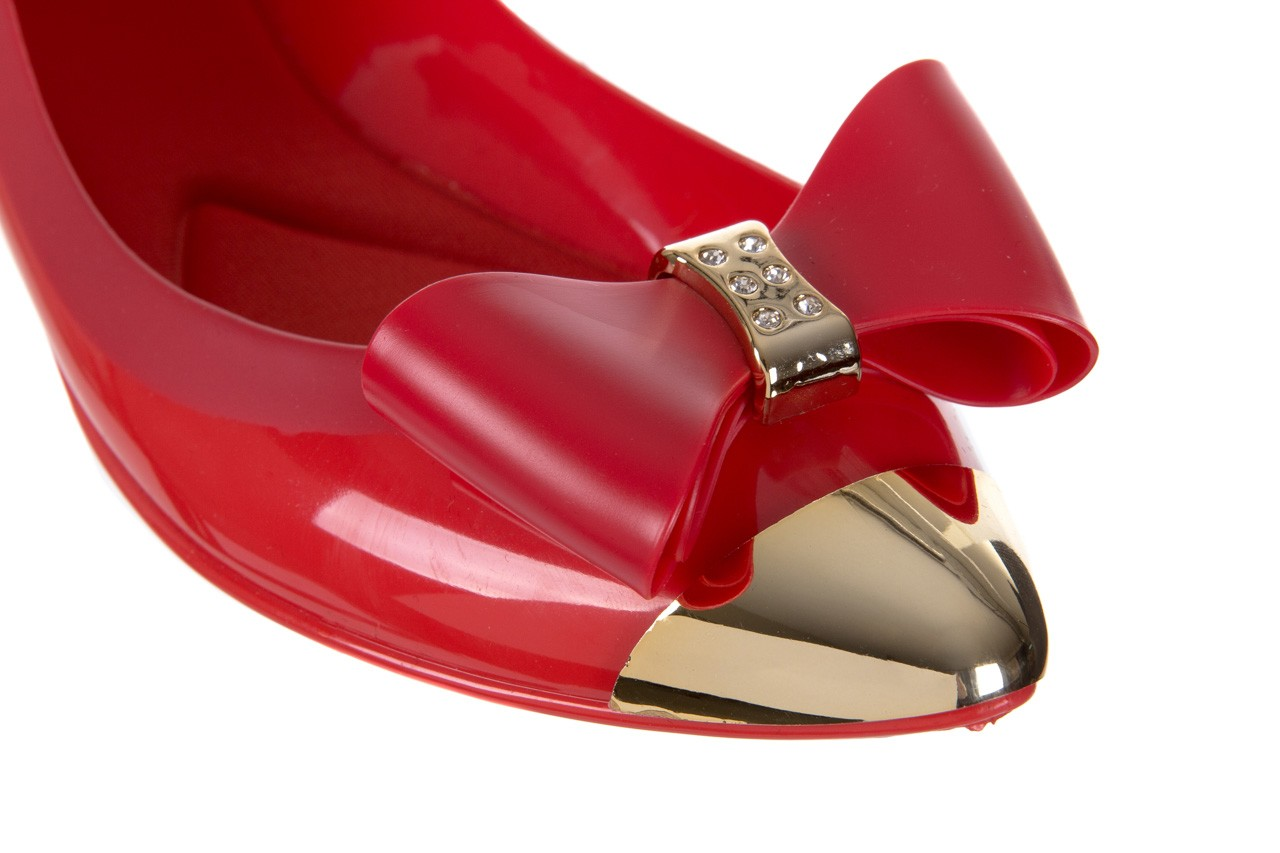 Baleriny t&g fashion 11-102 red, czerowny, guma - tg - nasze marki 12