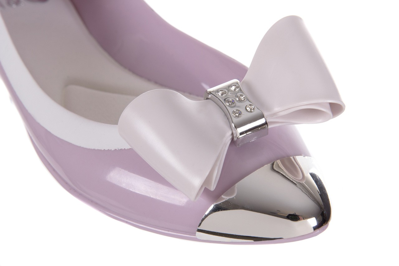 Baleriny t&g fashion 11-102 violet, róż/ biały  - tg - nasze marki 12