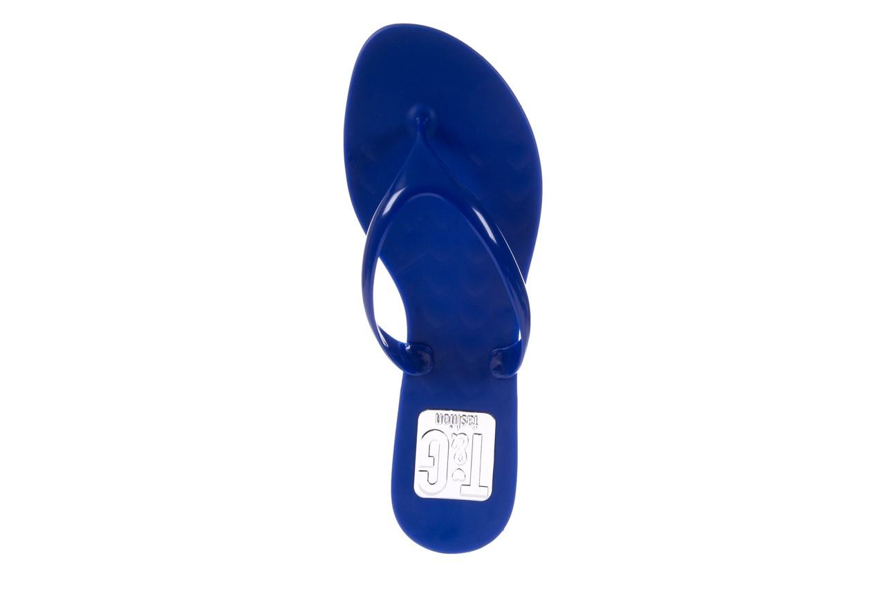 Klapki t&g fashion 22-114 blue, granat, guma - klapki - letnie hity cenowe 11