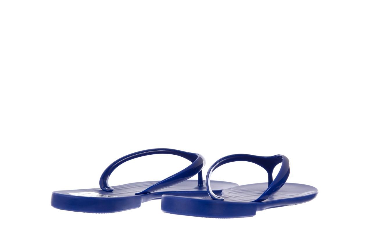 Klapki t&g fashion 22-114 blue, granat, guma - klapki - letnie hity cenowe 10