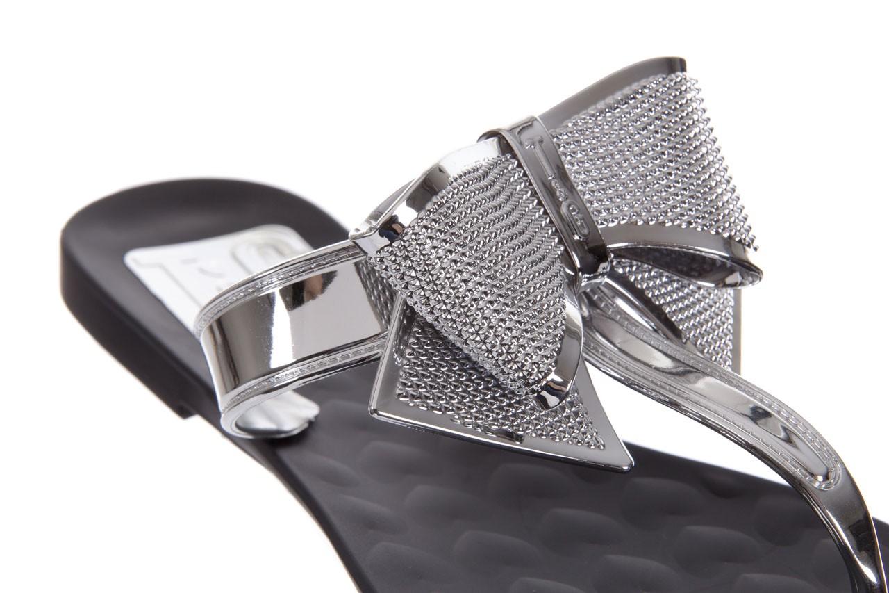 Klapki t&g fashion 22-118 black, czarny/ srebro, guma - tg - nasze marki 12