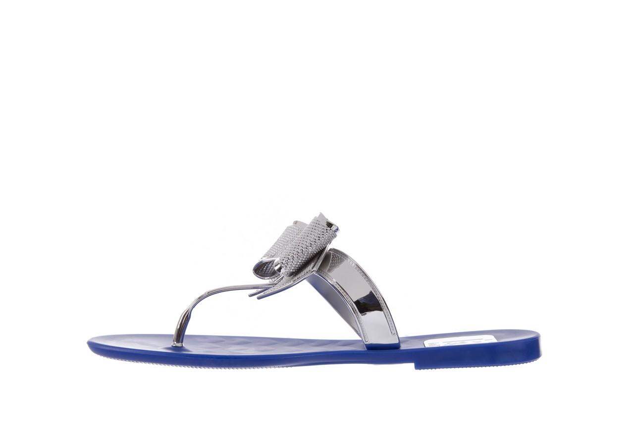 Klapki t&g fashion 22-116 dark blue, granat/ srebro, guma - tg - nasze marki 9