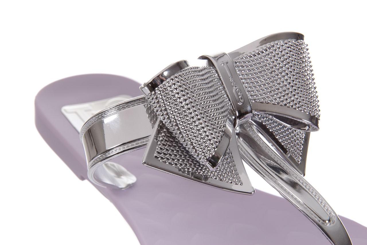 Klapki t&g fashion 22-118 lila, róż/ srebro, guma - klapki - letnie hity cenowe 12