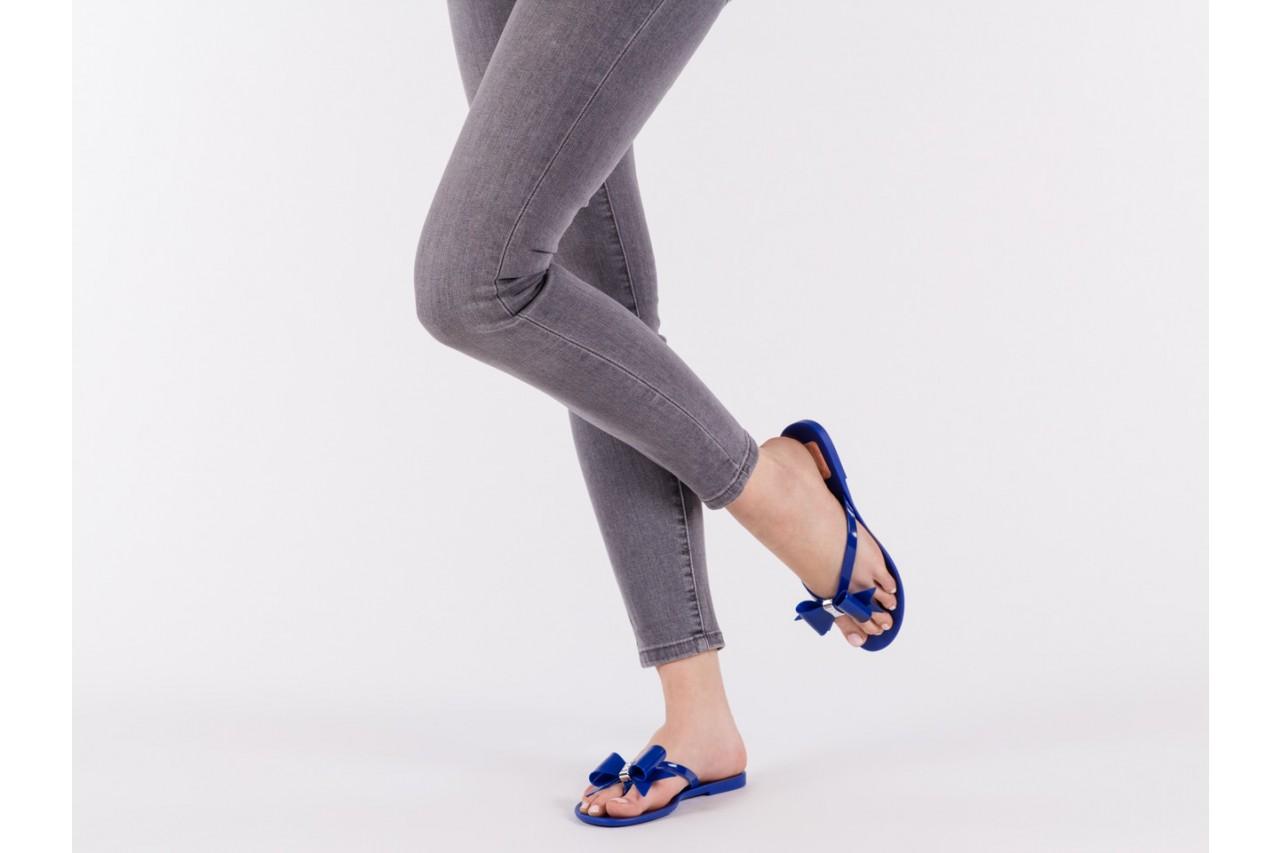 Klapki t&g fashion 22-123 blue, granat, guma - klapki - letnie hity cenowe 13