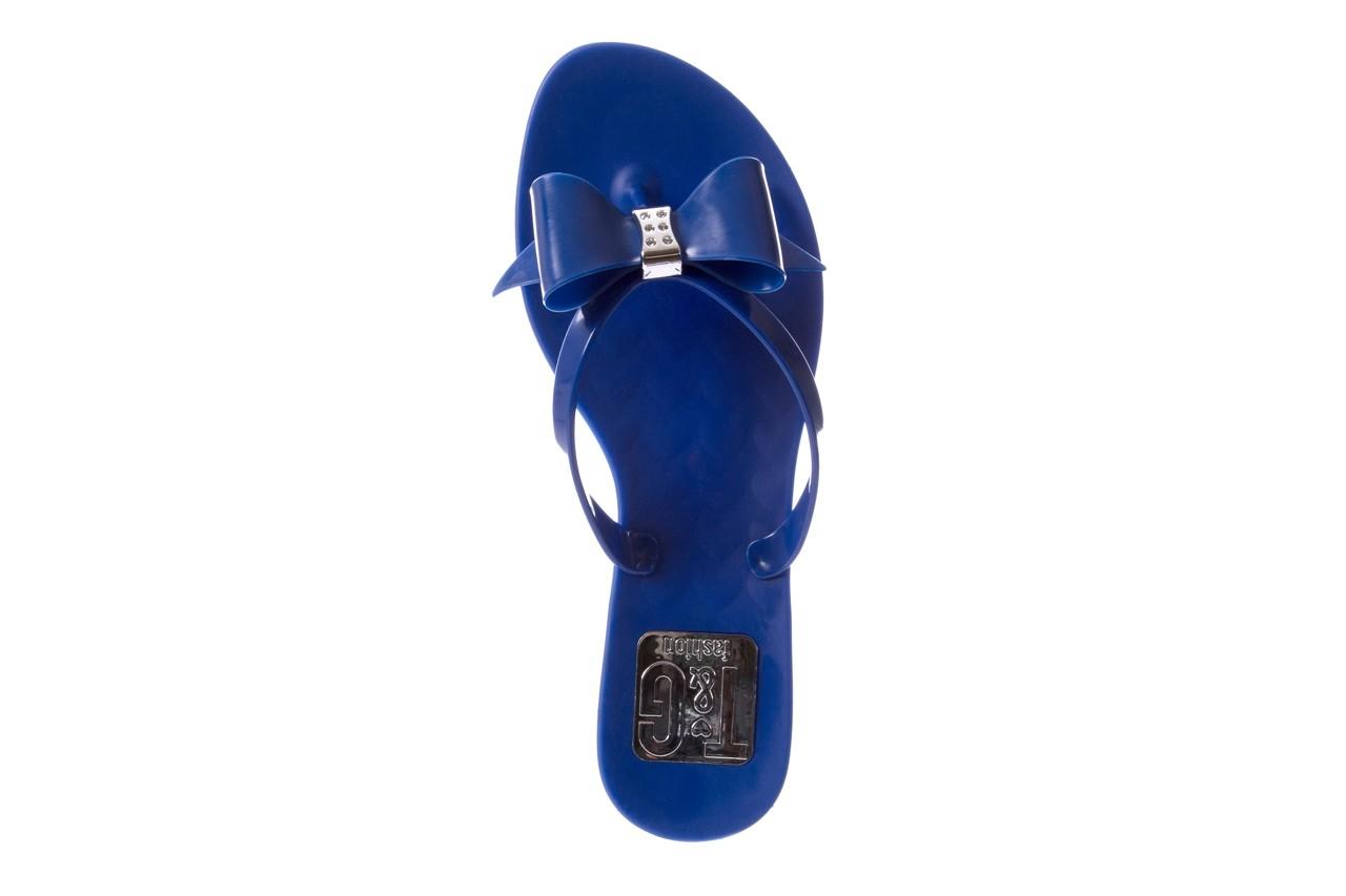 Klapki t&g fashion 22-123 blue, granat, guma - klapki - letnie hity cenowe 11