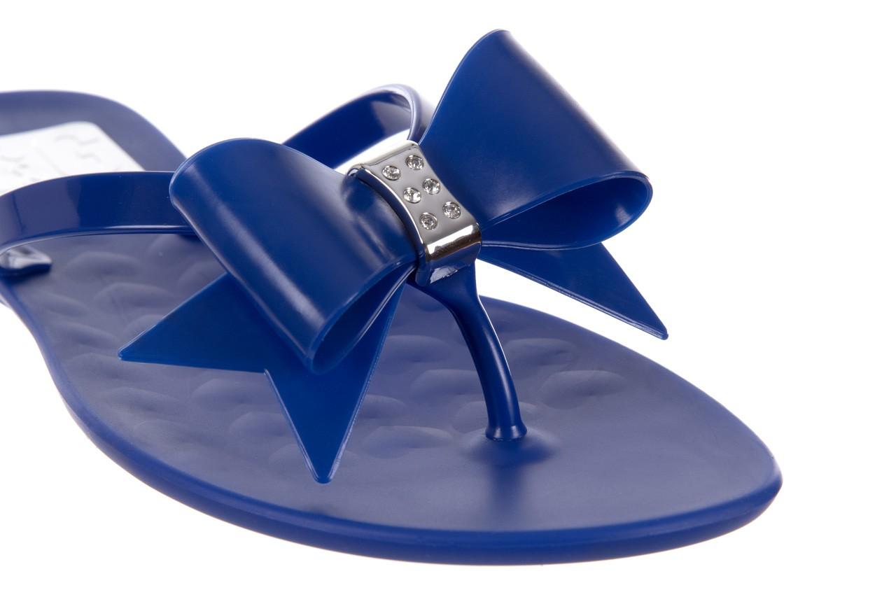 Klapki t&g fashion 22-123 blue, granat, guma - klapki - letnie hity cenowe 12