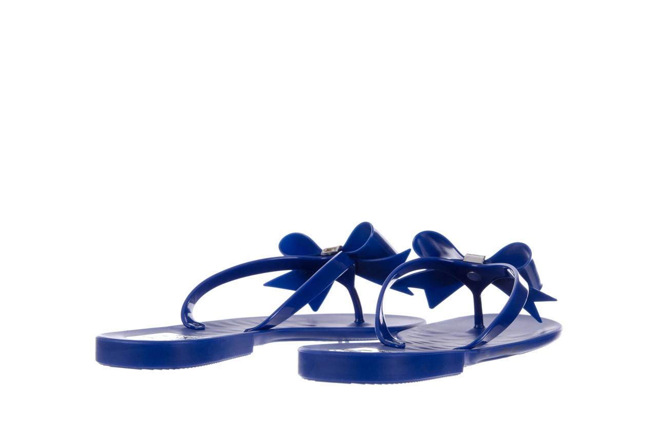Klapki t&g fashion 22-123 blue, granat, guma - klapki - letnie hity cenowe 10