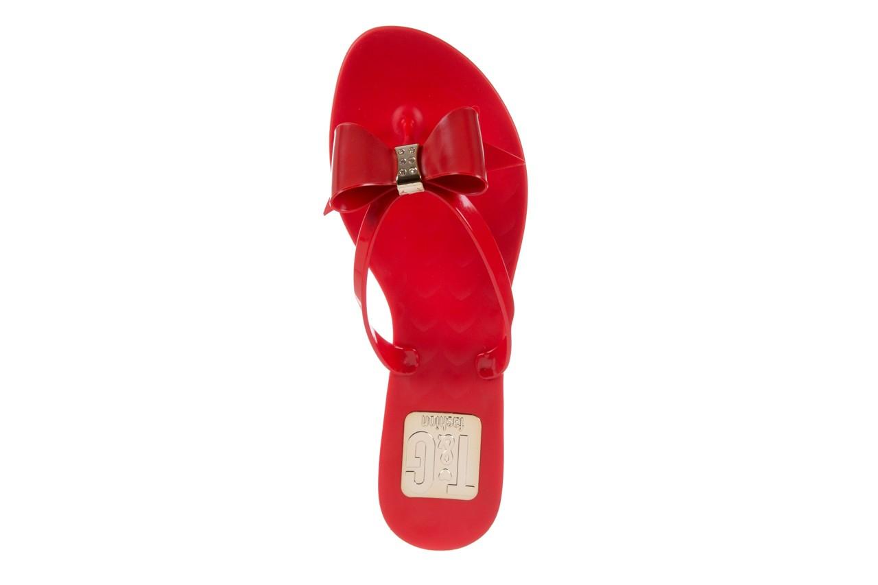 Klapki t&g fashion 22-123 red, czerwony, guma - tg - nasze marki 11