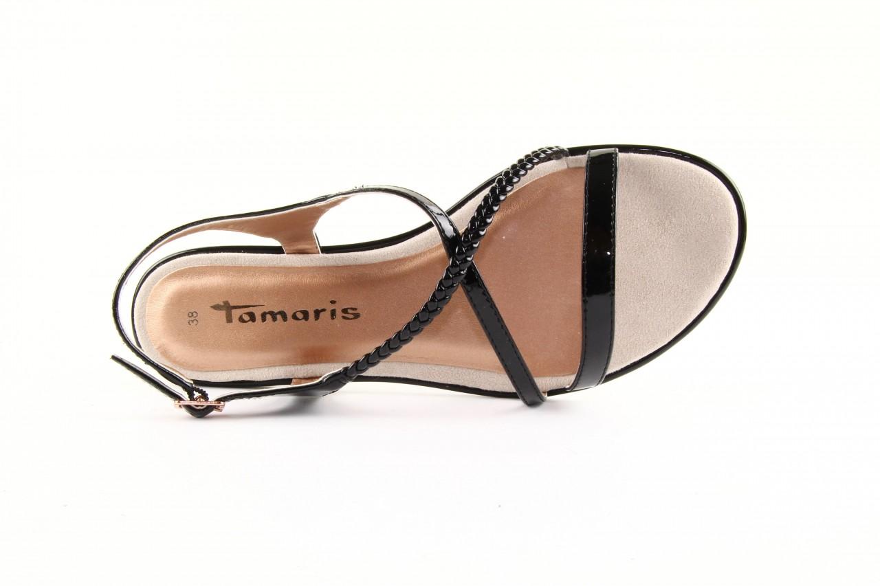Tamaris 28129 black patent 13