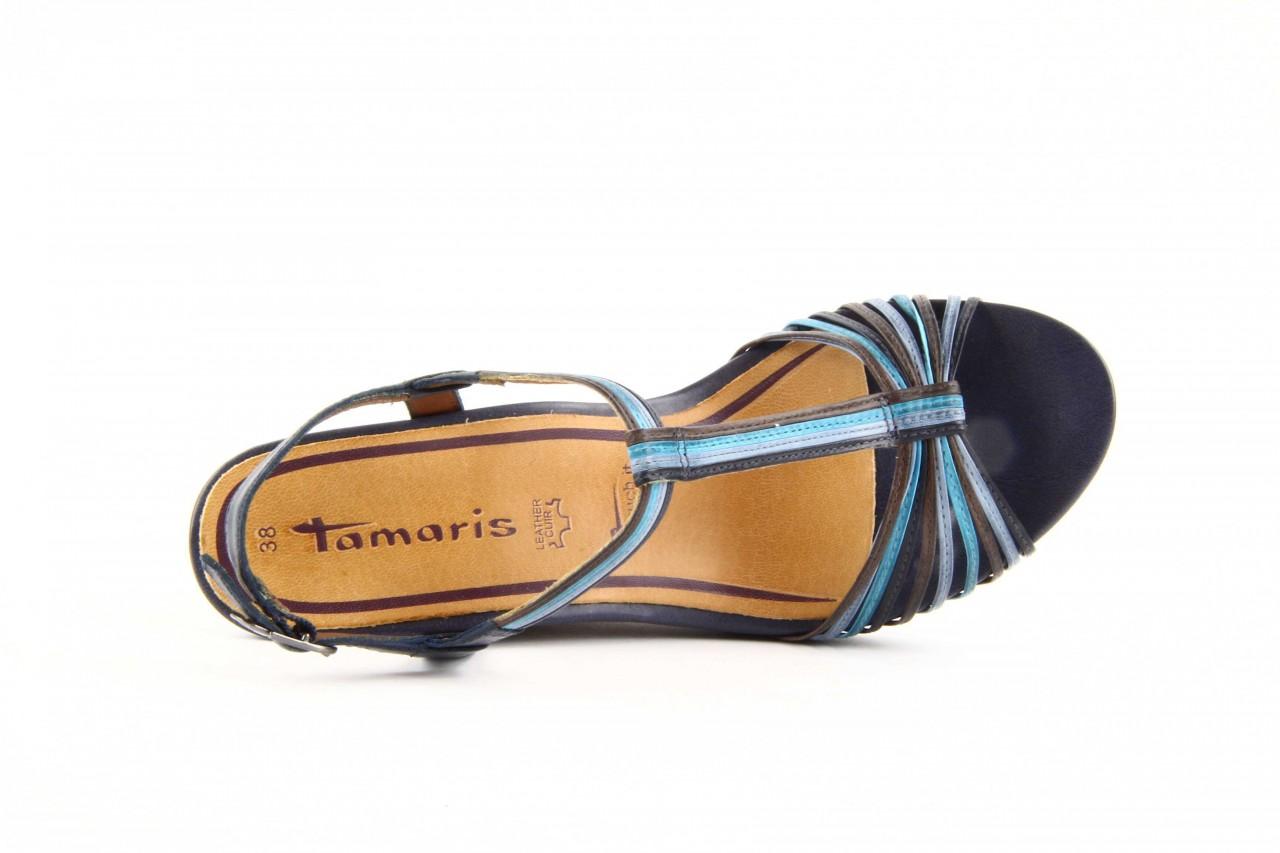 Tamaris 28355 blue comb - nasze marki 8