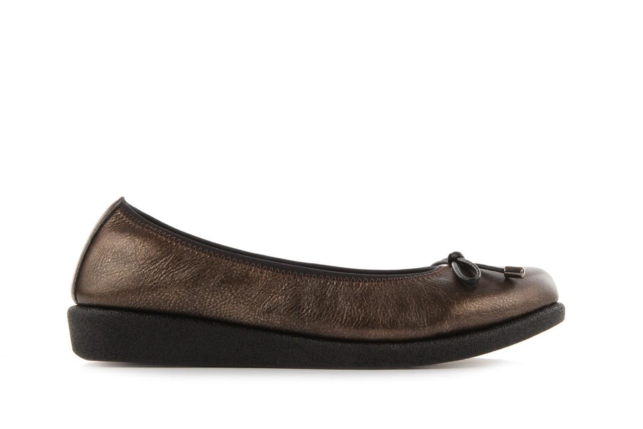 Baleriny the flexx 14153 bronzo, brąz, skóra naturalna - skórzane - baleriny - buty damskie - kobieta 7