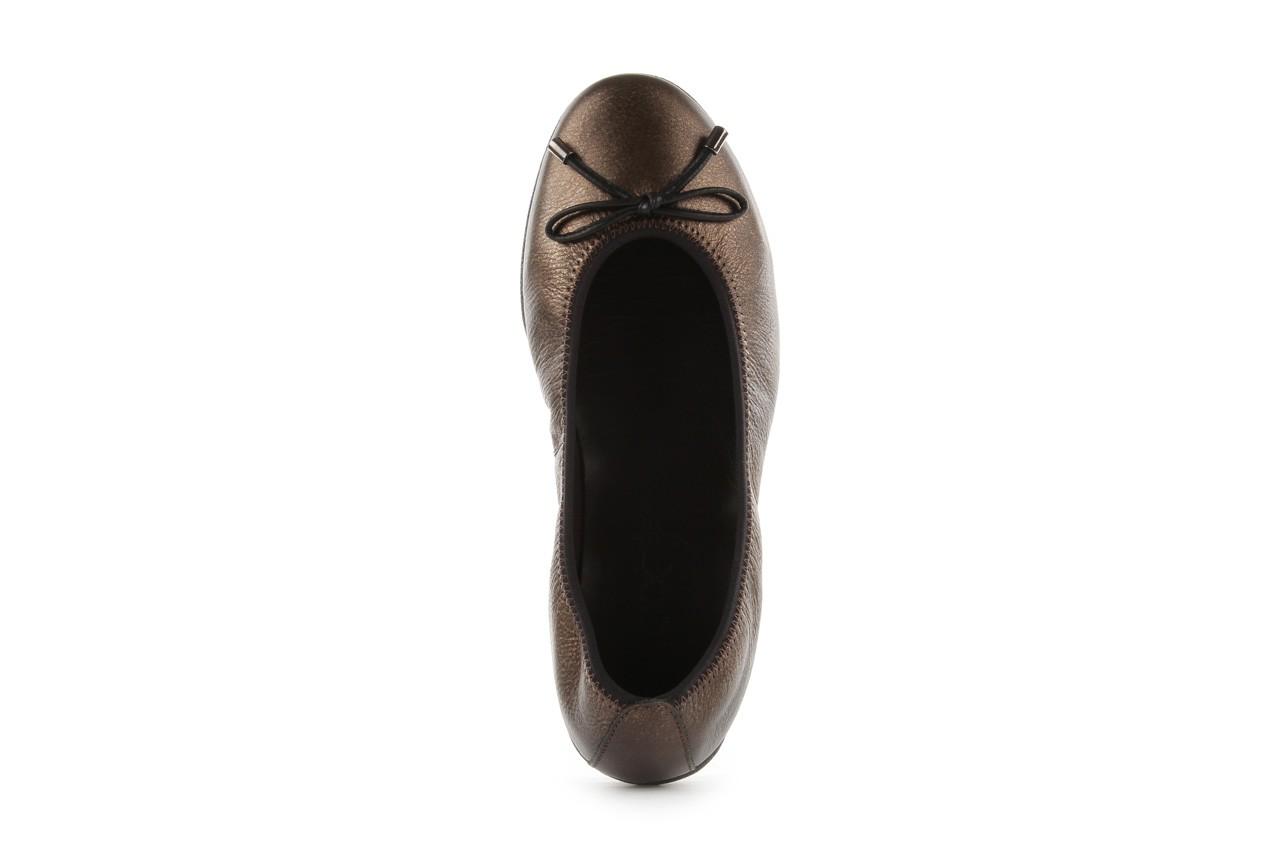 Baleriny the flexx 14153 bronzo, brąz, skóra naturalna - skórzane - baleriny - buty damskie - kobieta 11