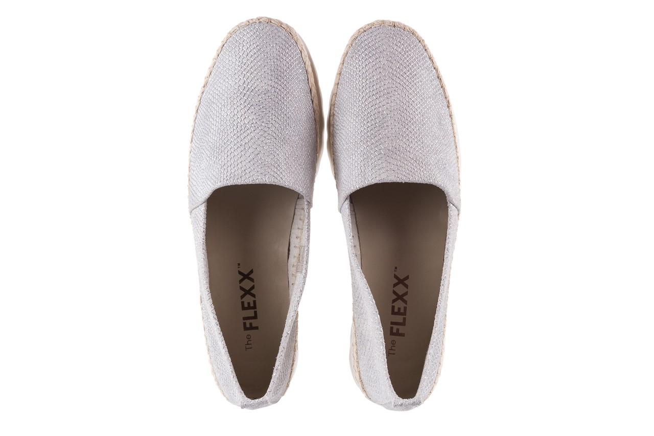 Mokasyny the flexx chazan white 18, srebro/ biały, skóra naturalna  - the flexx - nasze marki 11