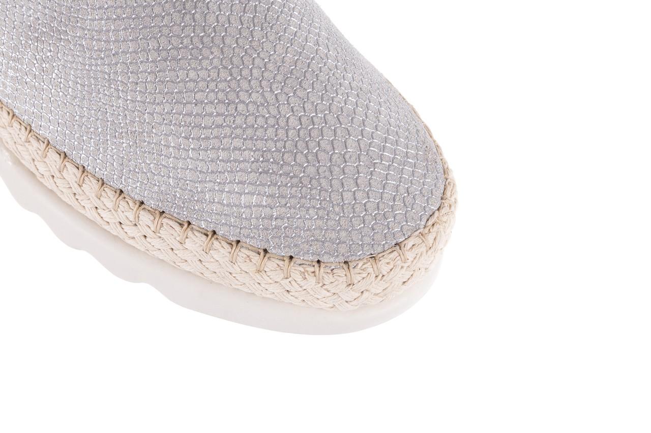 Mokasyny the flexx chazan white 18, srebro/ biały, skóra naturalna  - the flexx - nasze marki 13
