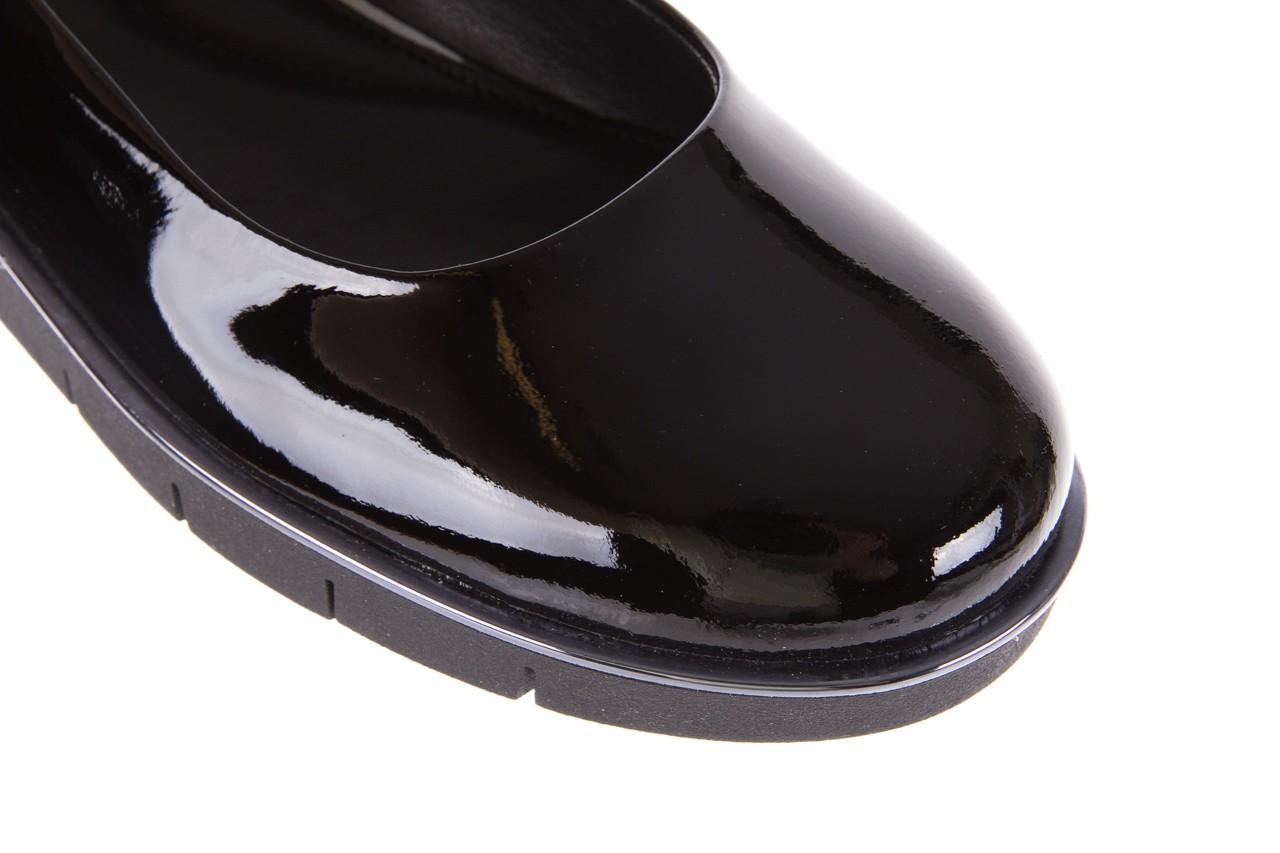 Baleriny the flexx d1039-07 black lakier, czarny, skóra naturalna lakierowana  - the flexx - nasze marki 11