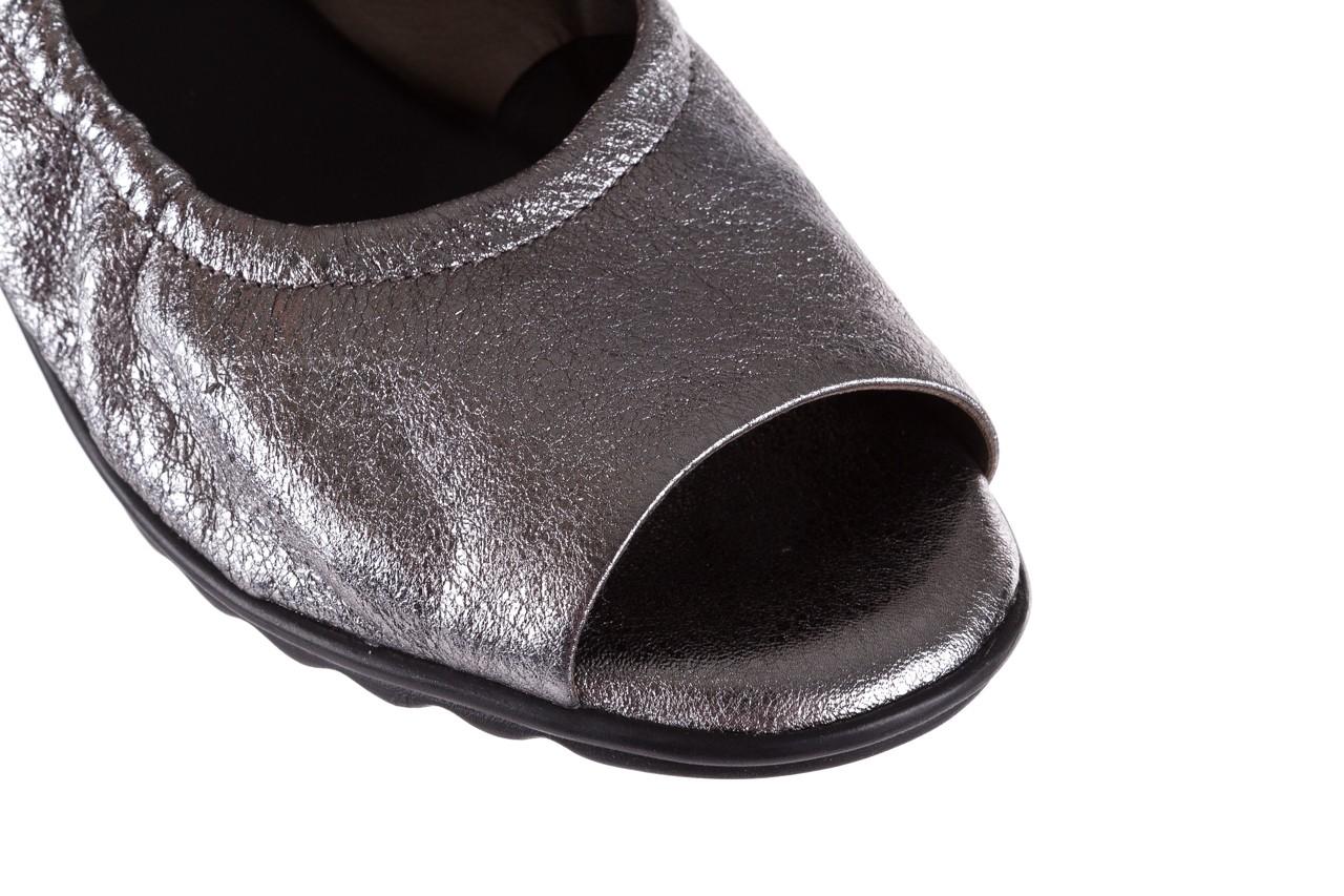 Sandały the flexx fant asm c.fucile, srebrny, skóra naturalna  - the flexx - nasze marki 13