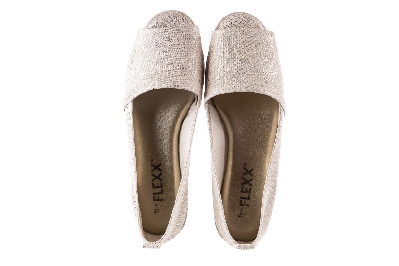 Półbuty the flexx fantastic gold, złoty, skóra naturalna  - koturny - buty damskie - kobieta 12