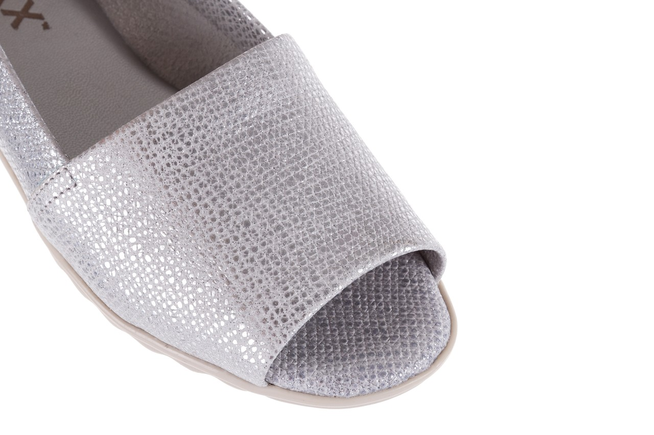 Półbuty the flexx fantastic silver, srebrne, skóra naturalna  - the flexx - nasze marki 12