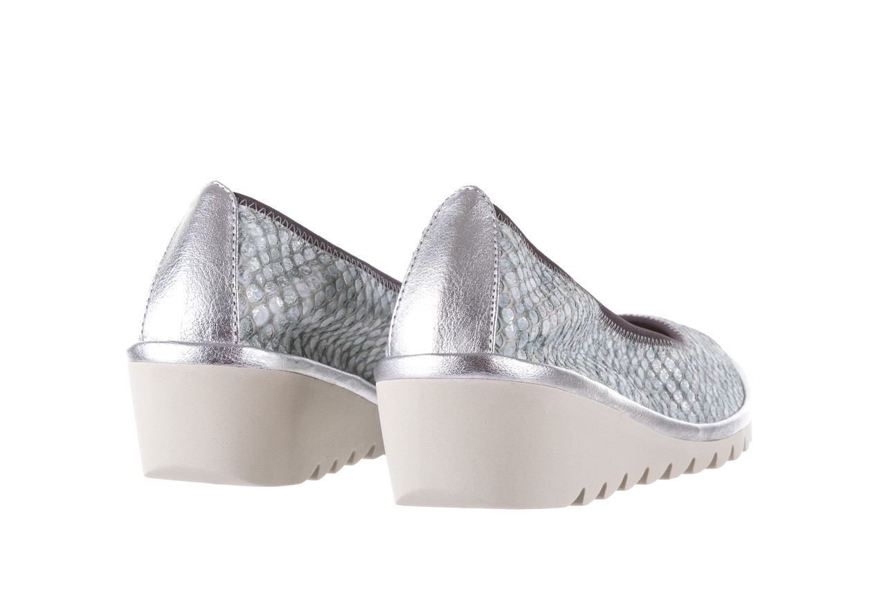 Baleriny the flexx mel a drama silver, biały/srebrny, skóra naturalna  - the flexx - nasze marki 9