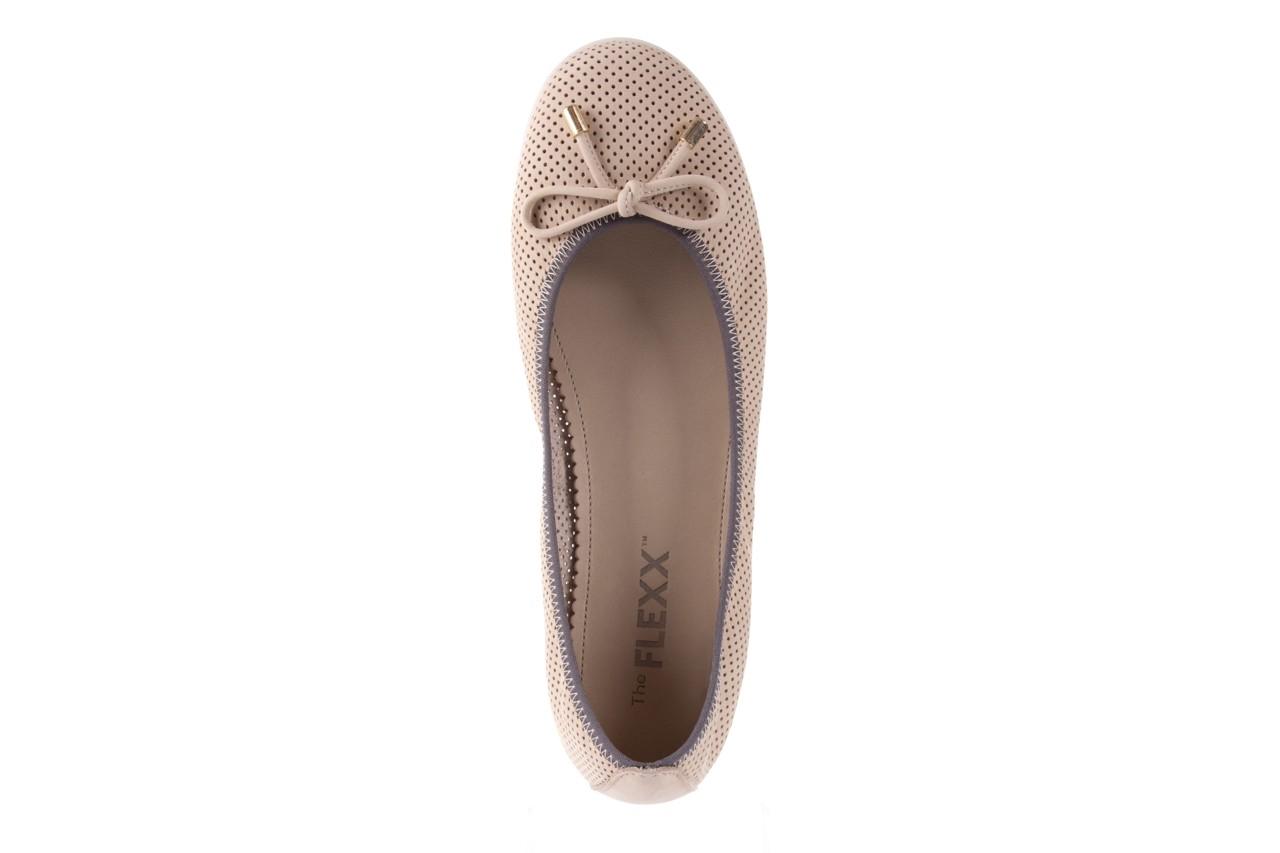Baleriny the flexx miss italia corda 16, beż, skóra naturalna - the flexx - nasze marki 10
