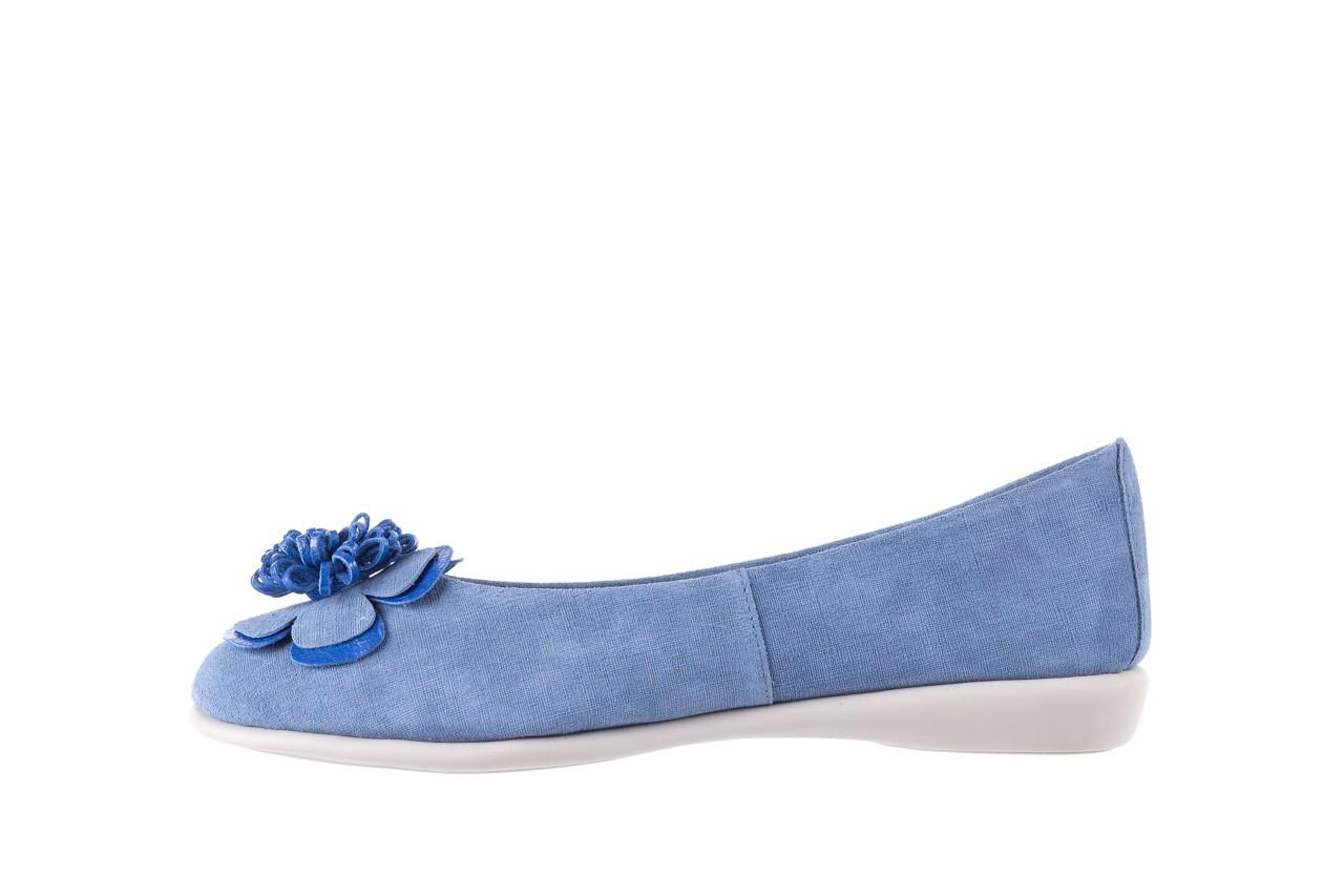 Baleriny the flexx misspoke denim, niebieski, skóra naturalna - the flexx - nasze marki 8