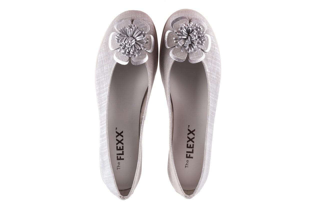 Baleriny the flexx misspoke silver, srebrny, skóra naturalna  - the flexx - nasze marki 11