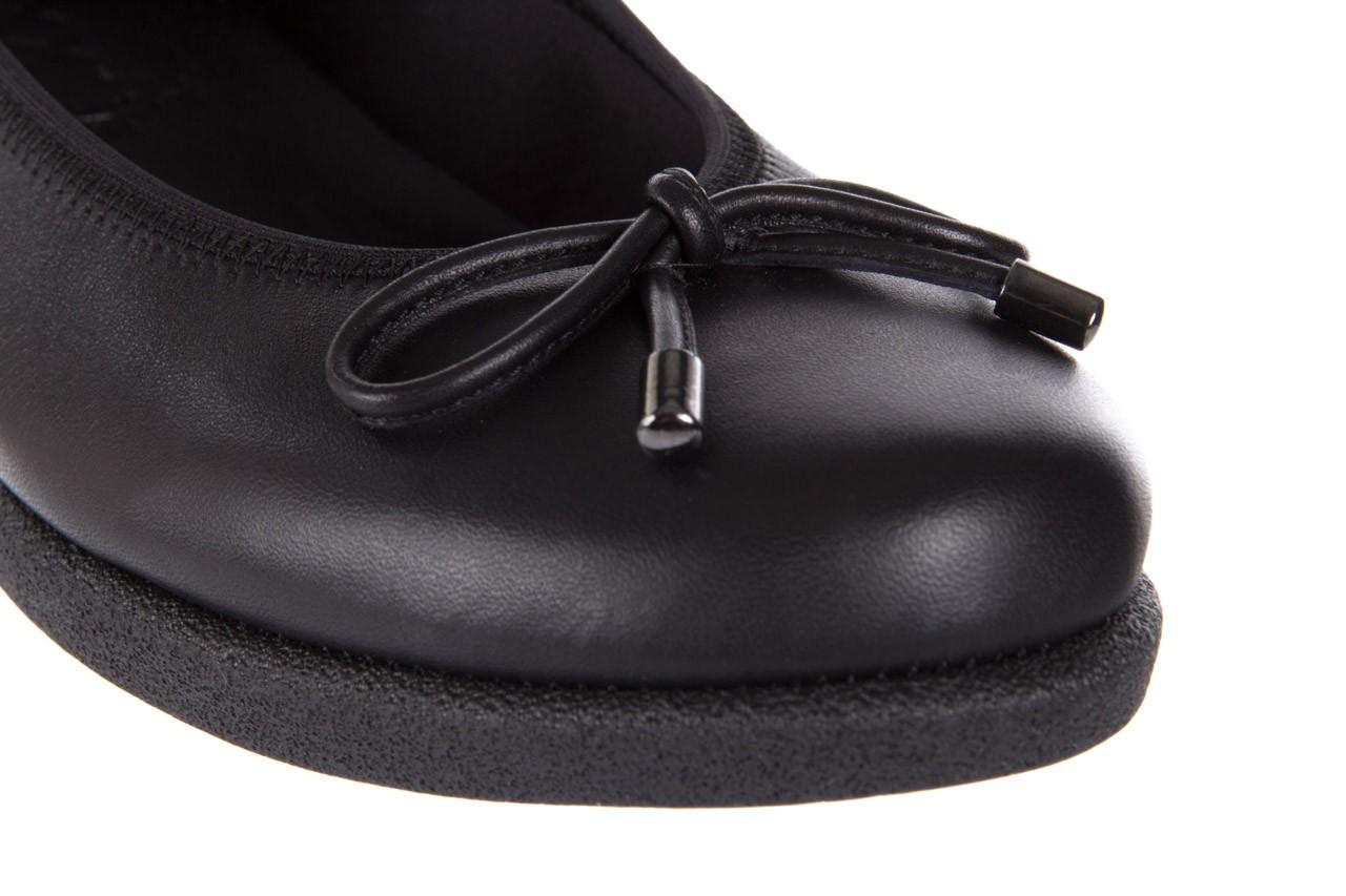 Baleriny the flexx notturno black 18, czarny, skóra naturalna  - the flexx - nasze marki 11