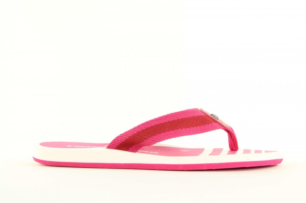Klapki tom tailor 5491701 pink, róż, guma 8