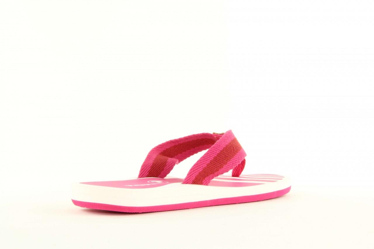 Klapki tom tailor 5491701 pink, róż, guma 6